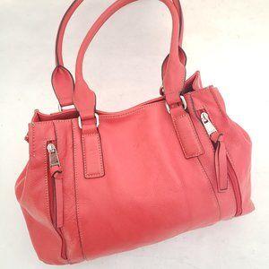 Tignanello Pink Leather Purse